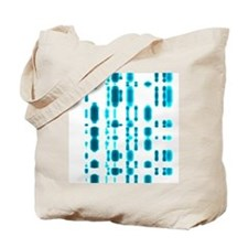 DNA autoradiogram Tote Bag