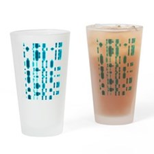 DNA autoradiogram Drinking Glass