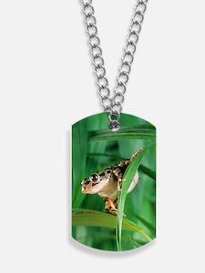 Red-legged pan frog Dog Tags