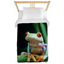 Red-eyed tree frog Twin Duvet