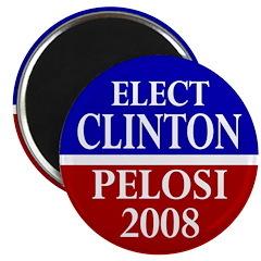 Elect Clinton-Pelosi Magnet