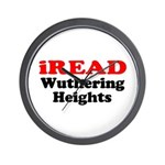 iREAD Wuthering Heights Wall Clock
