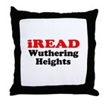 iREAD Wuthering Heights Throw Pillow
