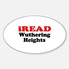 iREAD Wuthering Heights Oval Decal