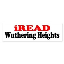 iREAD Wuthering Heights Bumper Bumper Sticker