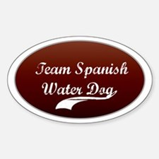 Team Water Dog Oval Decal