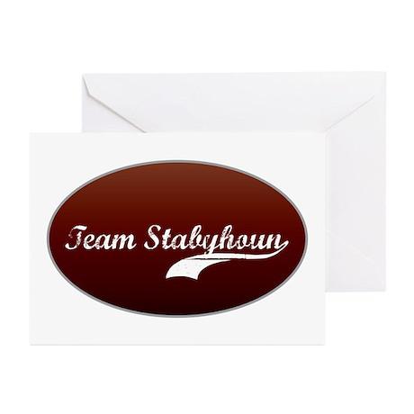 Team Stabyhoun Greeting Cards (Pk of 10)