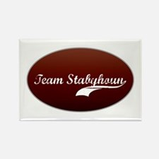 Team Stabyhoun Rectangle Magnet (100 pack)