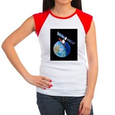 Remote sensing satellit Women's Cap Sleeve T-Shirt