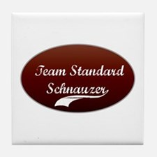Team Schnauzer Tile Coaster