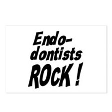 Endodontists Rock ! Postcards (Package of 8)