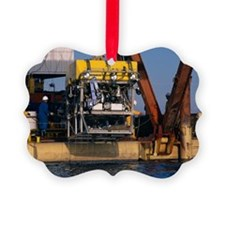 Research submersible Picture Ornament