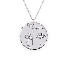 Unique Funny I Got Your Back Necklace