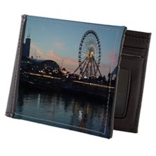 John Hancock Center from Lake Michigan Mens Wallet