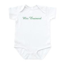 Mrs Brainard Infant Bodysuit