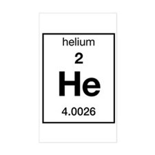 Helium Rectangle Decal
