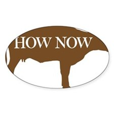How Now Brown Cow Decal
