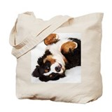 Bernese mountain dog Canvas Totes
