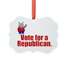 Funny Republican Ornament