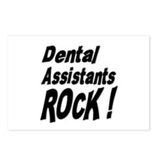 Dental Assistants Rock ! Postcards (Package of 8)