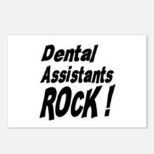 Dental Assistants Rock ! Postcards (Package of 8)