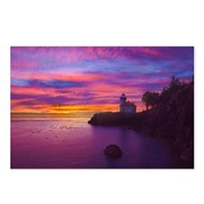 Lime Kiln Lighthouse on S Postcards (Package of 8)