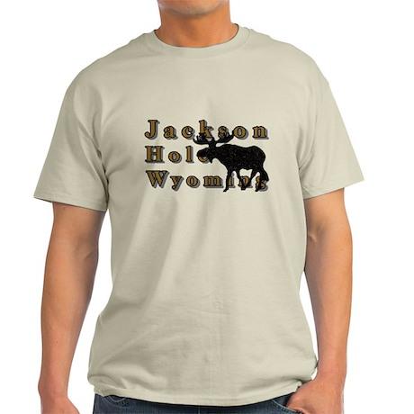 Jackson Hole Wyoming Moose Light T-Shirt