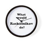 Raskolnikov Wall Clock