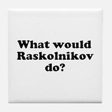 Raskolnikov Tile Coaster