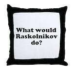 Raskolnikov Throw Pillow