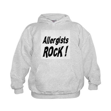Allergists Rock ! Kids Hoodie