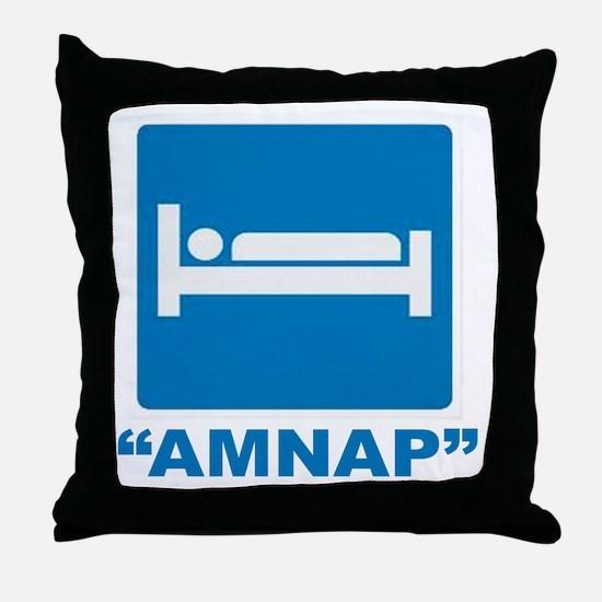 AMNAP Throw Pillow
