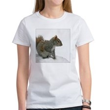squirrel covered in snowflakes Tee