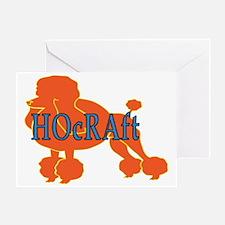HOcRAft Logo Greeting Card