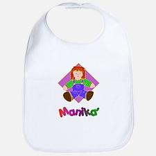 Manika' (Doll) Gifts Bib