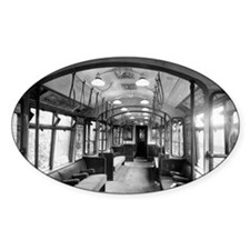 Interior of an all-steel London und Decal