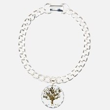 Guitar Tree Charm Bracelet, One Charm