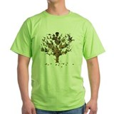 Guitar tree Green T-Shirt