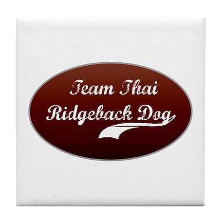 Team Ridgeback Tile Coaster