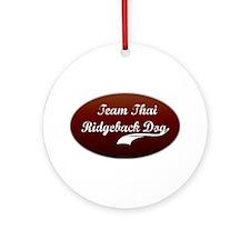 Team Ridgeback Ornament (Round)