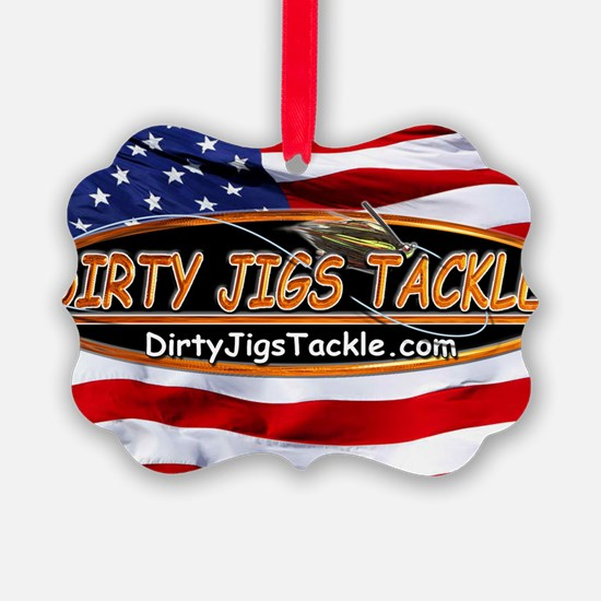 Dirty Jigs American Made Ornament