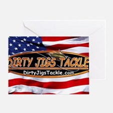 Dirty Jigs American Made Greeting Card