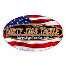 Dirty Jigs American Made Bumper Stickers