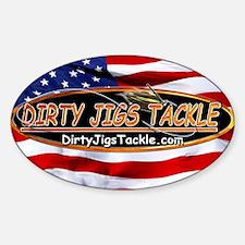 Dirty Jigs American Made Decal