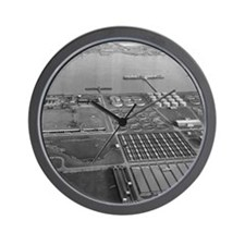 Sewage Works Wall Clock