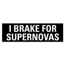Supernova Bumper Bumper Sticker