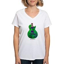 """""""Foil Green"""" Guitar Shirt"""