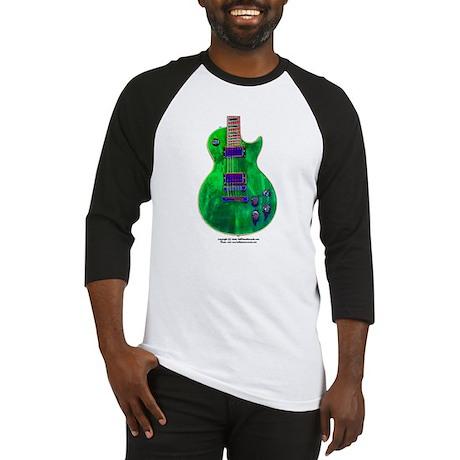 """""""Foil Green"""" Guitar Baseball Jersey"""