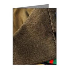 Armed services badges Note Cards (Pk of 10)