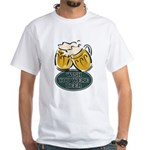 Wish You Were Beer White T-Shirt